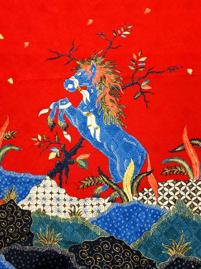 Jual Kain batik tulis sutra baron mewah dan exlusive pola kemeja ... 7cc6cba4ad