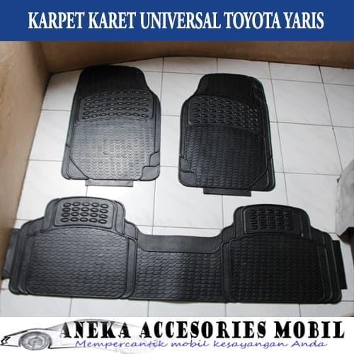 Toyota Floor Mats >> Jual New Karpet Karet Karpet Lantai Removable Floor Mats Universal Toyota Kota Tangerang Selatan Radja Sparepart Mobil Tokopedia
