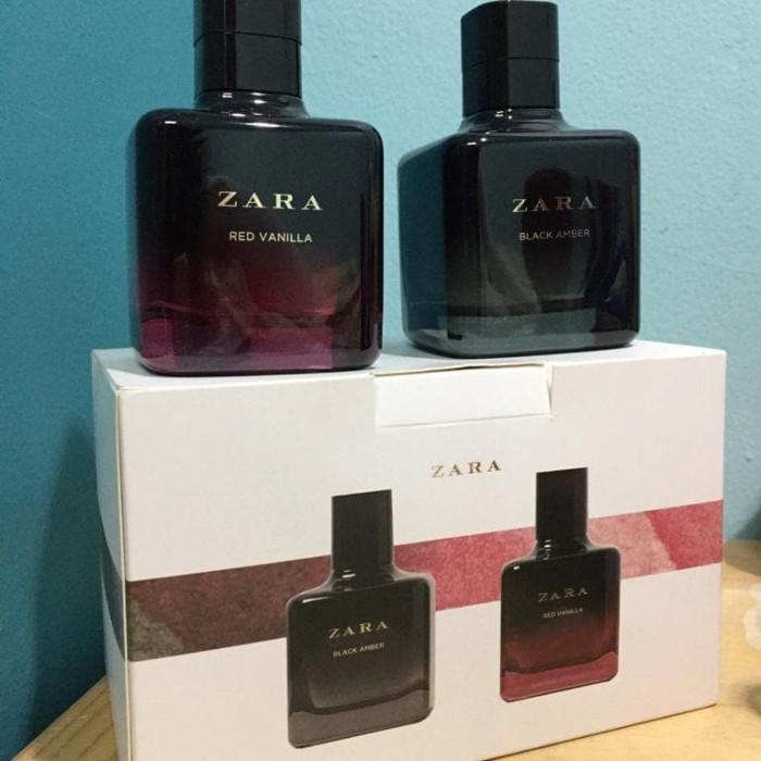 Parfume Zara Red Vanilla Black Amber Original