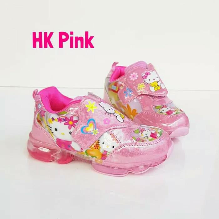 harga Sepatu hello kitty #sepatu hello kitty led #sepatu anak cewek Tokopedia.com