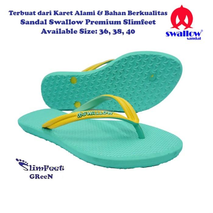 Sandal Swallow Premium Spectrum Pria Black - Tali Merah - 5. Source · harga Sandal