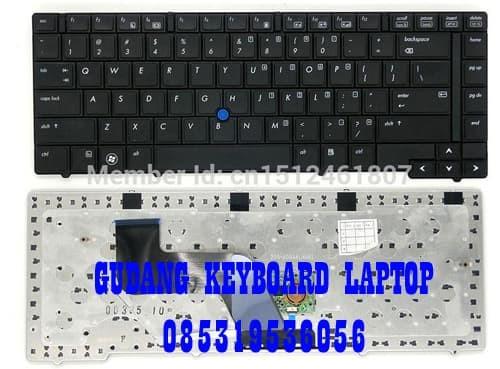 Jual Keyboard laptop HP Elitebook 8440p 8440w pointing stick black - Kota  Surabaya - pusat keyboard laptop | Tokopedia