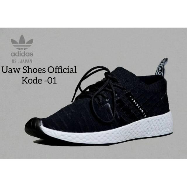 new arrival f7b4f faa15 Jual ADIDAS NMD R2 JAPAN | UAW SHOES X NMD RUNNER ADIDAS Sepatu Sneakers -  Kab. Bekasi - idolashoes | Tokopedia