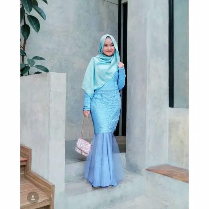 Gaun Pesta Muslim Model Duyung