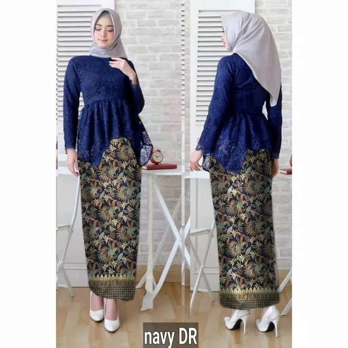 Jual Kebaya Wisuda Wisudawati Kebaya Muslim Baju Pesta Resmi Pagar Ayu Dres Dki Jakarta Fika Olshop Store Tokopedia