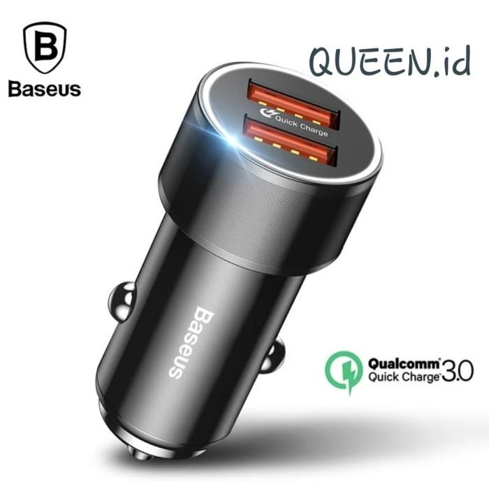 Foto Produk Baseus Car Charger Quick Charge 3.0 / Baseus OriginaL QC 3.0 dari Queen-accessories