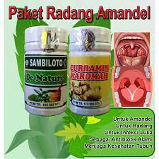 Foto Produk Obat Amandel De Nature Original dari Toko De Nature Ampuh