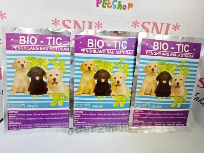 BIO - TIC Bio Tic penghilang bau kotoran Anjing Original Termurah
