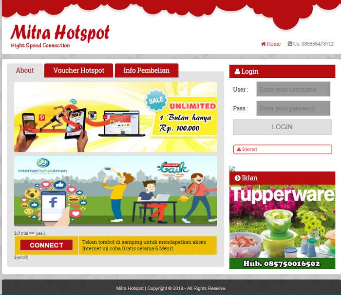 Jual Paket Setting Mikrotik RT RW Net Hotspot Lengkap - Kab  Tulungagung -  Mitra Hotspot | Tokopedia