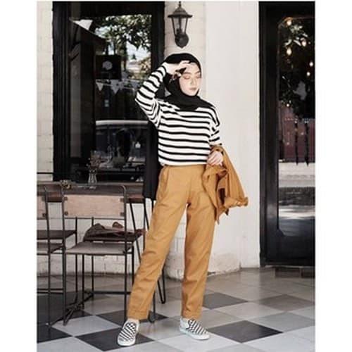 97+  Celana Baggy Pants Warna Mustard Paling Baru Gratis