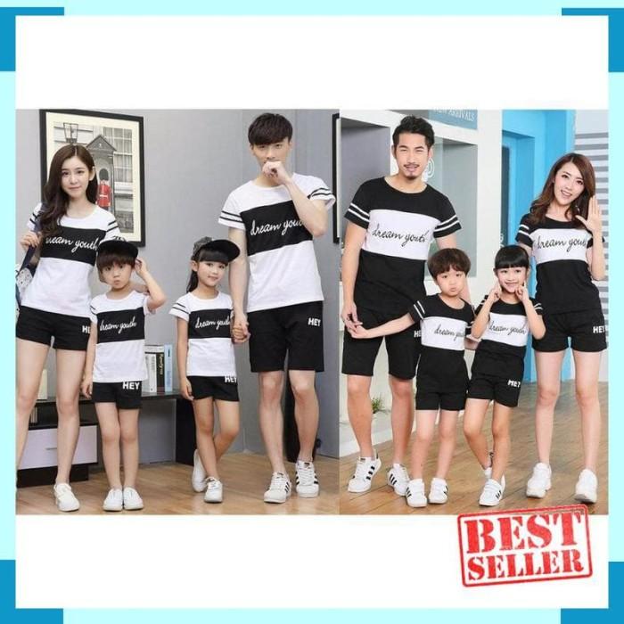 Jual (2 warna) DREAM Family couple cp fm kaos keluarga 2 anak youth - DKI  Jakarta - Choco Lemon | Tokopedia