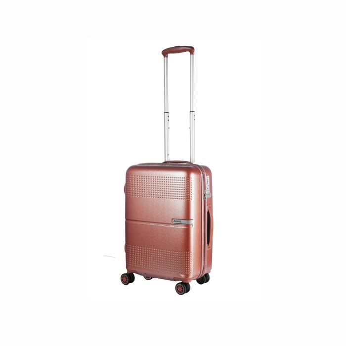 """Summit Luggage Koper Hardcase Trolley 24"""" Gold Rose 52417"""