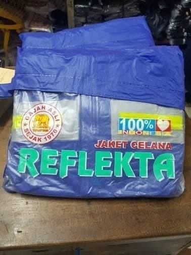 harga Jas hujan jaket celana reflekta gajah elephant brand Tokopedia.com