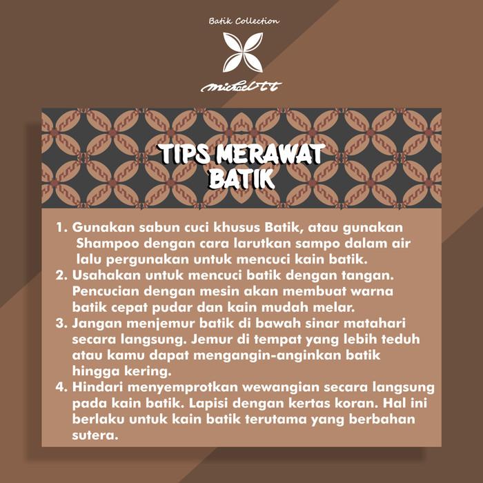 Jual Batik Tulis Premium Mewah Batik Tulis Mosaic Pohon Kelapa