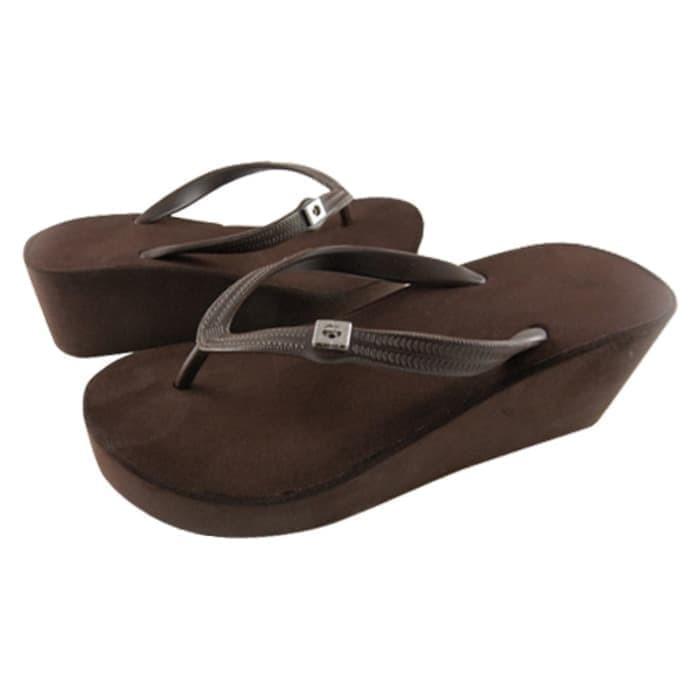 TERBARU Sepatu Sandal Popits wedges 7cm