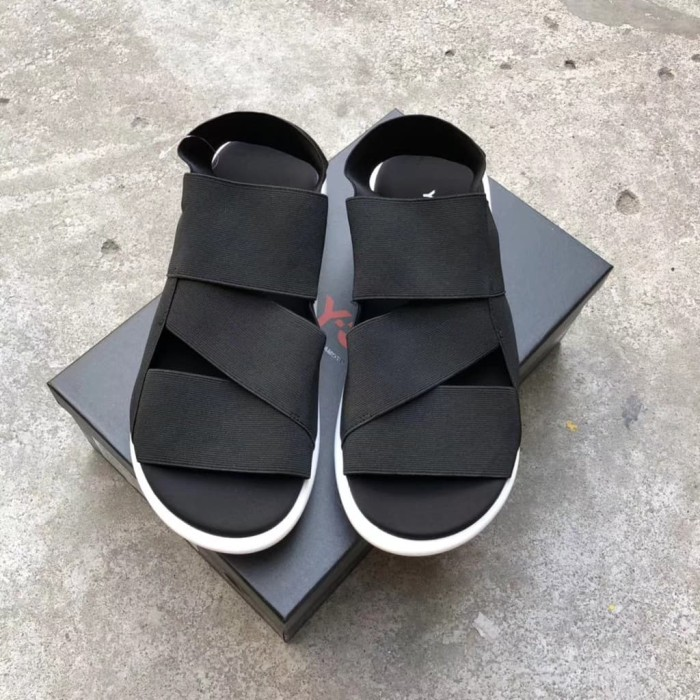 6df0b24d6  Just Original  ADIDAS Sandal Y3 Qasa Yohji Yamamoto Black White High