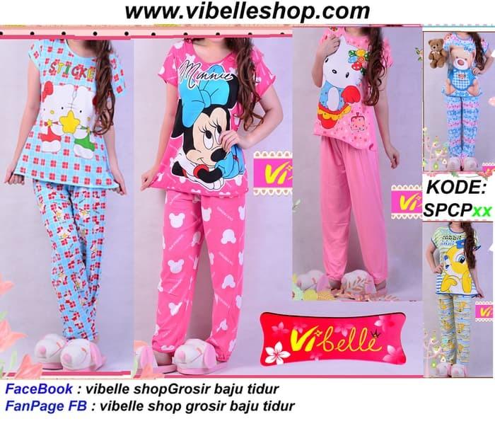 SPCPxxx - Vibelle shop grosir baju tidur piyama baby doll daster murah 2684401687