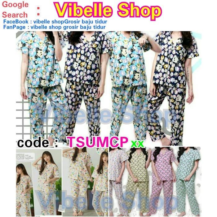 Jual TSUMCPxx - Tsum Tsum Vibelle shop grosir baju tidur piyama baby ... caefbbbb65