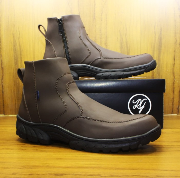 Jual Sepatu Boot Pria RGClothes Vikano Safety  5e828a0741
