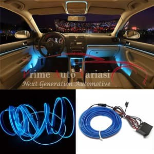 harga Lampu interior mobil led neon rgb 3 meter with 12v inverter - blue Tokopedia.com