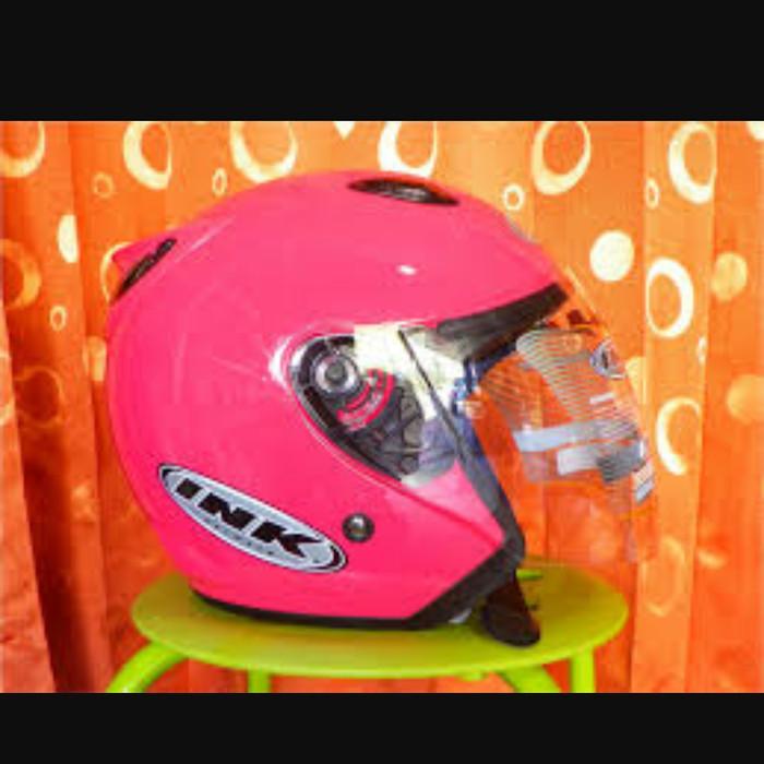 Helm retro pink ink