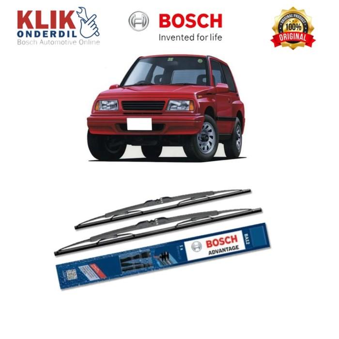 harga Bosch sepasang wiper kaca mobil suzuki escudo (1994) advantage 19 &19 Tokopedia.com