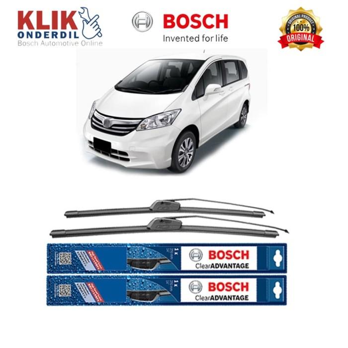 harga Bosch sepasang wiper mobil honda freed frameless new clear 26  & 14 Tokopedia.com