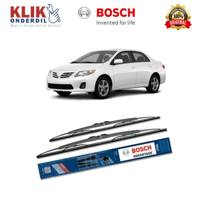 harga Bosch sepasang wiper kaca mobil nissan sentra (2009) advantage 20 &18 Tokopedia.com