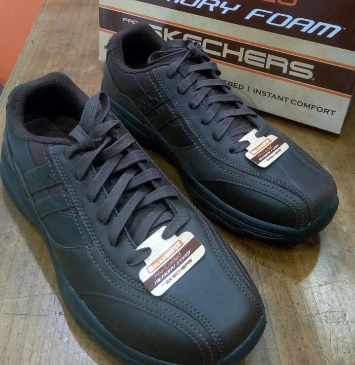harga Sepatu skechers original casual sneaker relaxed fit memory f 65354cho  Tokopedia.com 32baef3391