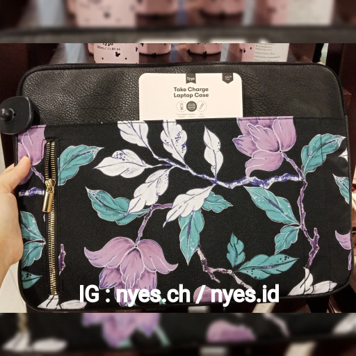 new style 69726 7bc81 Jual TAS LAPTOP CASE 15INCH MACBOOK COVER PRO FLORAL BLACK TYPO ORIGINAL -  Jakarta Barat - NYPS | Tokopedia