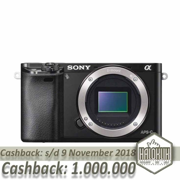 harga Cashback sony a6000 bo body only Tokopedia.com