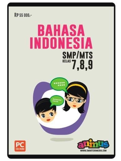 Foto Produk CD BAHASA BAHASA INDONESIA KELAS 7 8 9 SMP/MTs dari SMART EDUMEDIA