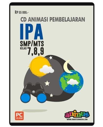 Foto Produk CD IPA KELAS 7 8 9 SMP/MTs dari SMART EDUMEDIA