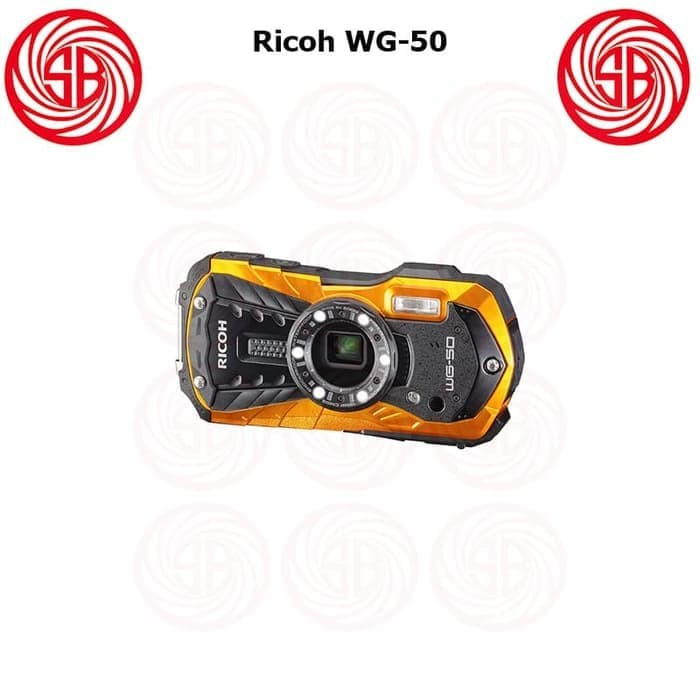 Kamera Ricoh WG-50 ; Camera Pocket Underwater Macro Ricoh WG 50 WG50