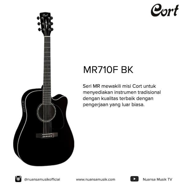 harga Cort mr 710f acoustic electric guitar Tokopedia.com