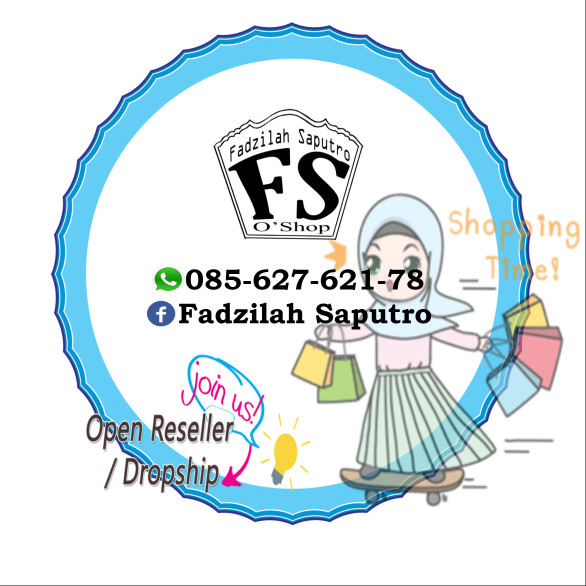 Jual Design Logo Olshop Kab Kebumen Fadzilah Saputro Shop