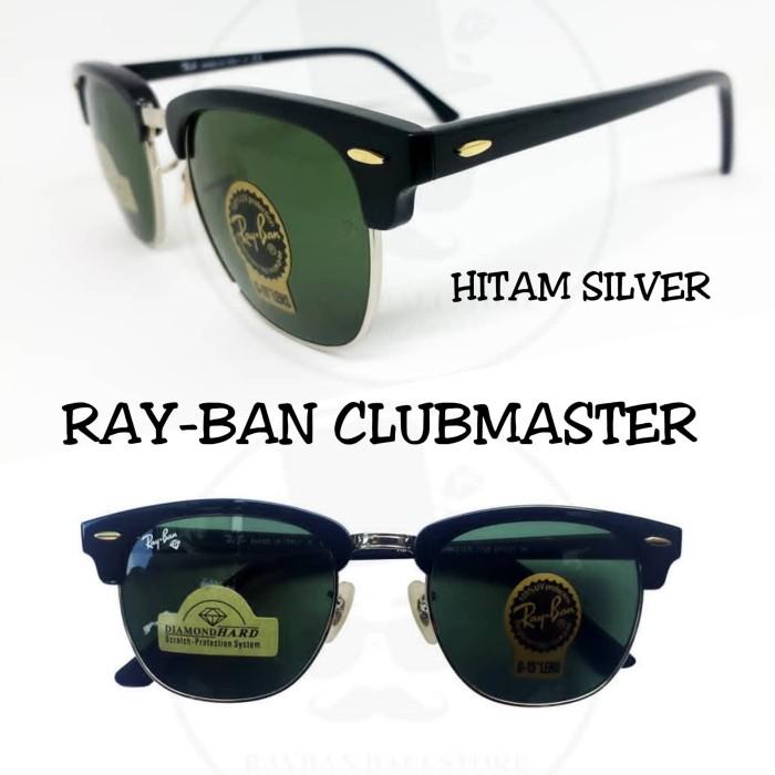 kacamata fashion pria wanita sunglasses Rb clubmaster kualitas super - Gold  Doff 38614d11c4