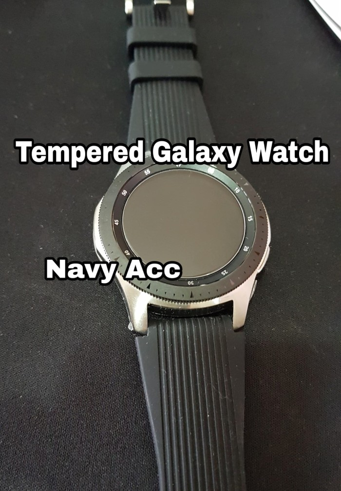 Foto Produk Tempered Glass Samsung Galaxy Watch 46mm - Tempered Galaxy Watch 46mm dari Navy Acc