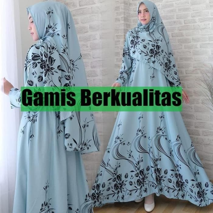 Foto Produk Baju Gamis Muslim Syari Wanita - TIFFANY SYARI - Dress Gaun Pesta dari Raja Obral 107