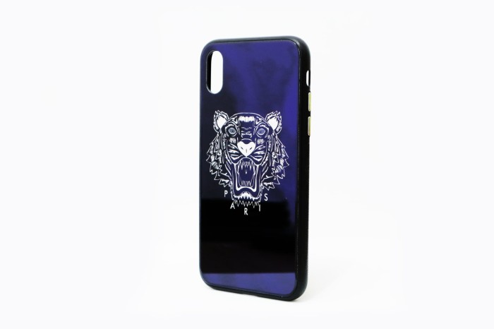 7a094136ca Jual Premium Case iPhone X - Kenzo Glass Blue - Kota Administrasi Jakarta  Utara - Tokobazaar.Gadgets | Tokopedia