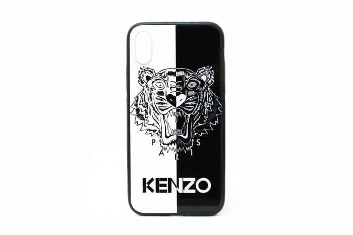 bf025832b4 Jual Premium Case iPhone X - KENZO Glass White/Black - DKI Jakarta -  Tokobazaar.Gadgets | Tokopedia