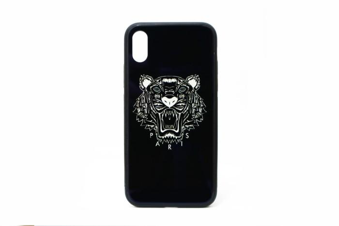 e747623fad Jual Premium Case iPhone X - Kenzo Glass Black - Kota Administrasi Jakarta  Utara - Tokobazaar.Gadgets | Tokopedia