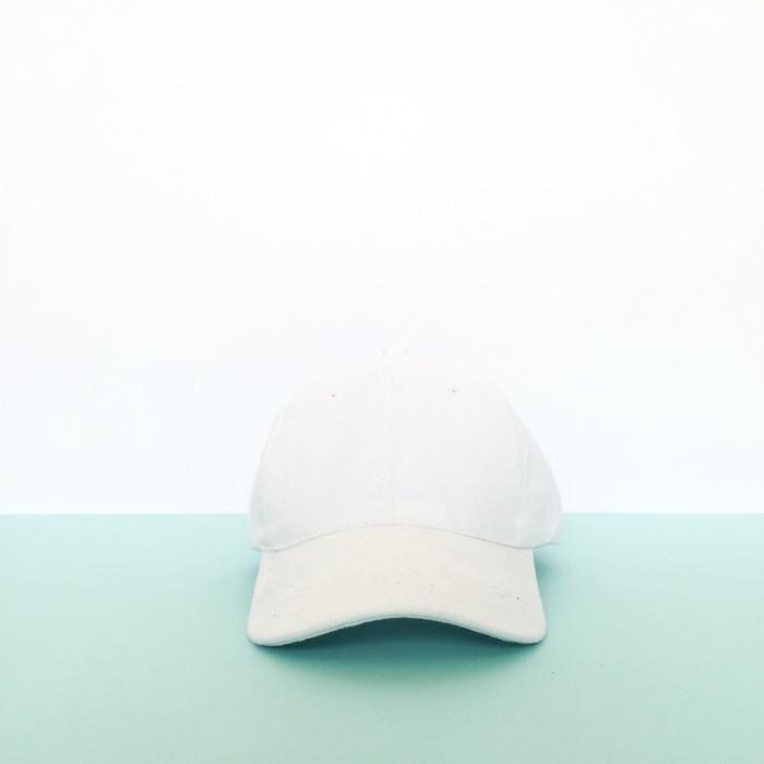 Jual Topi Baseball Cap Putih Polos Pria Wanita - SouvenirMarket ... 147afa6333