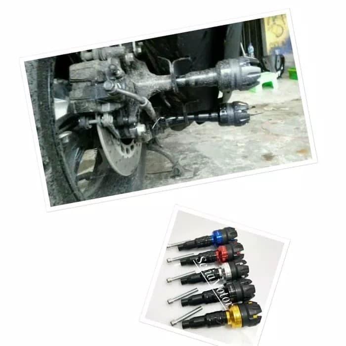 Frame slider / jalu pelindung knalpot yamaha nmax aerox vario
