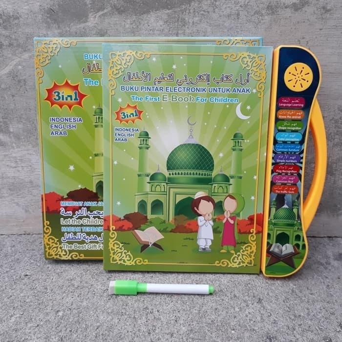 harga Play pad ebook muslim 3 bahasa mainan edukatif anak muslim Tokopedia.com