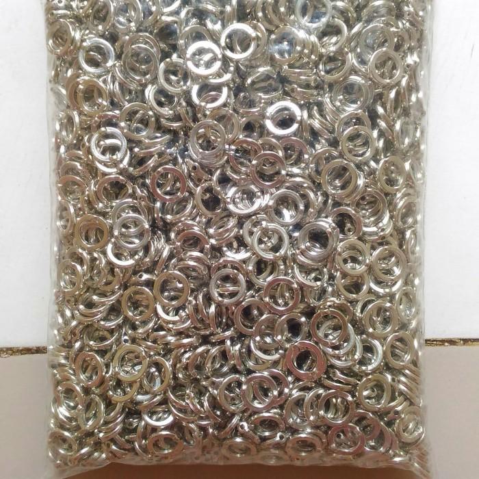 harga Ring pandora silver bahan kerajinan tangan Tokopedia.com
