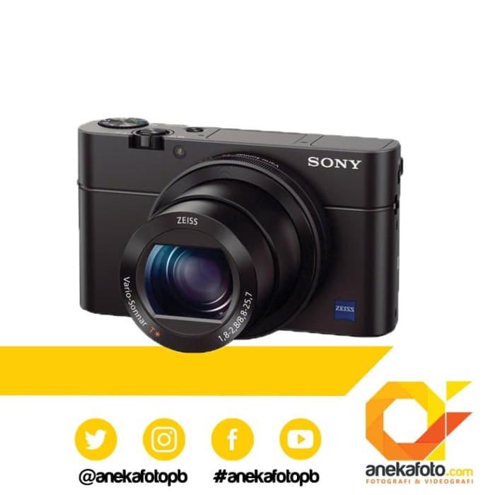 harga Sony cyber-shot dsc-rx100 mark iii m3 / m 3 kamera pocket Tokopedia.com