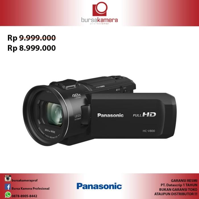 harga Panasonic hc-v800 full hd camcorder Tokopedia.com
