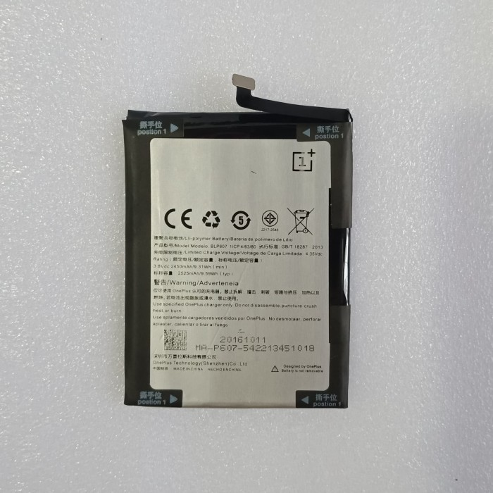 harga Baterai oppo one plus x blp607 / battery oppo blp607 ori Tokopedia.com