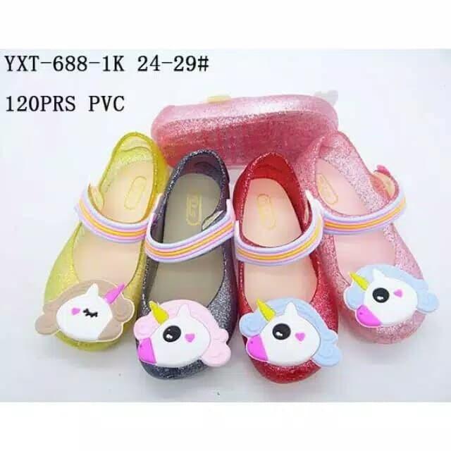 a1eea1af6cf7 Jual jelly shoes anak unicorn glitter new - D shop Fashion Jkt ...